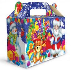 Детский новогодний подарок в картонной упаковке С новым годом 500 грамм в Саратове