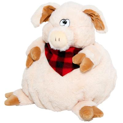 Сладкий детский новогодний подарок в мягкойупаковке-игрушке Портос 1400 грамм в комплектации премиум. в Саратове