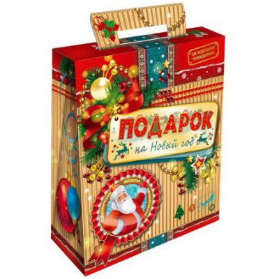 """Сладкий новогодний подарок """"С новым годом"""" 600 грамм в Саратове"""