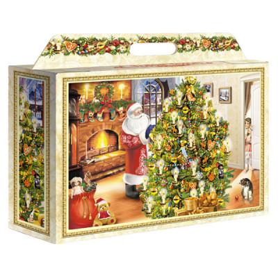 Картонная упаковка для Новогодних подарков Праздник большой в Саратове