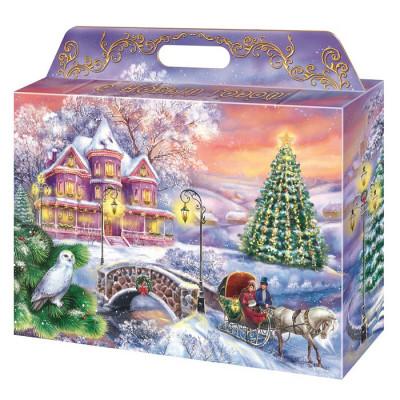 Картонная упаковка для Новогодних подарков Чудный вечер в Саратове