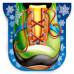 Дед Мороз на коньках 900 грамм стандарт в Саратове