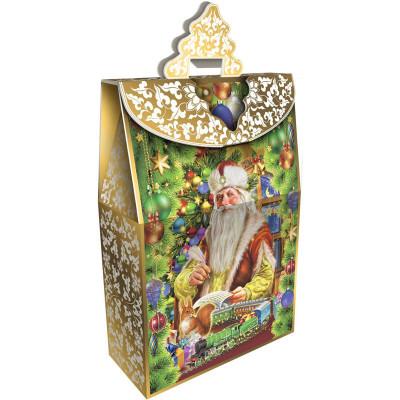 Сладкий новогодний подарок Традиция 2500 грамм в элитной комплектации в Саратове