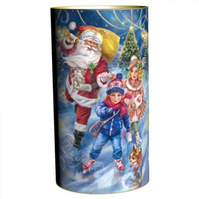 Подарок в тубе Зимние забавы 900 грамм стандарт в Саратове