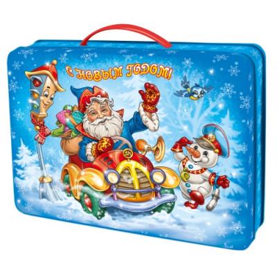 """Сладкий детский новогодний подарок """"Мороз с подарками"""" 1500 грамм в Саратове"""
