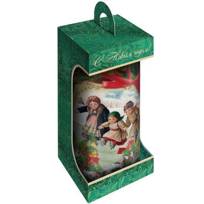 Оригинальный подарочек зеленый 300 грамм элит в Саратове