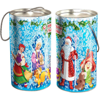 Туба  Новогодние узоры 800 грамм стандарт в Саратове