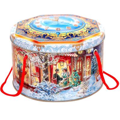 Шкатулка новогодняя 600 грамм премиум в Саратове