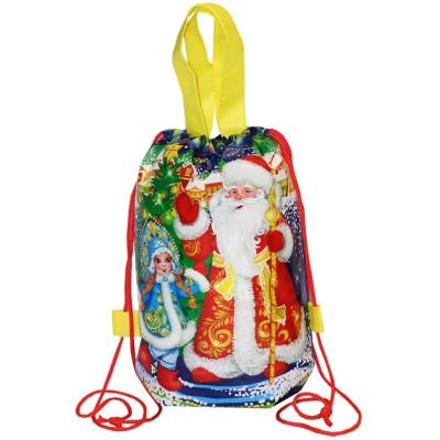 Рюкзачок Дед Мороз и Снегурочка 1000 грамм премиум в Саратове