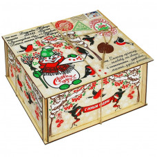 Посылка от Деда Мороза Снегири 1300 грамм элит