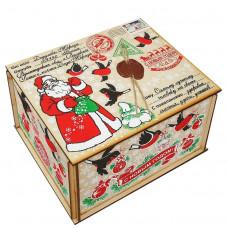 Посылка от Деда Мороза Снегири 800 грамм стандарт