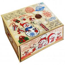 Посылка от Деда Мороза Стикер 1700 грамм элит