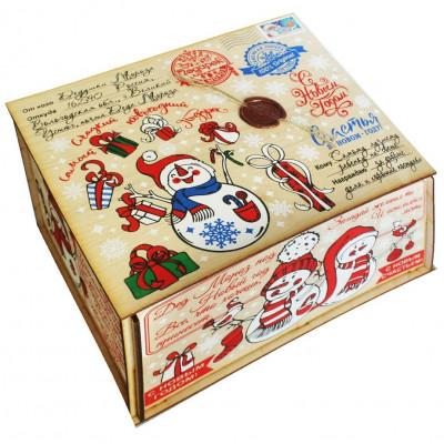 Посылка от Деда Мороза Стикер 1700 грамм премиум в Саратове