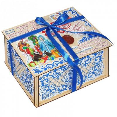 Посылка от Деда Мороза Стикер 800 грамм элит в Саратове