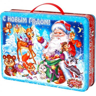 Кейс Дед Мороз 1500 грамм элит в Саратове