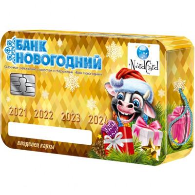 Банковская карта 1100 грамм премиум в Саратове