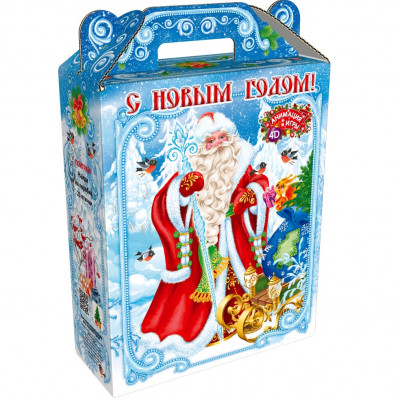 Подарок дед Мороз и Снегурочка 800 грамм элит в Саратове