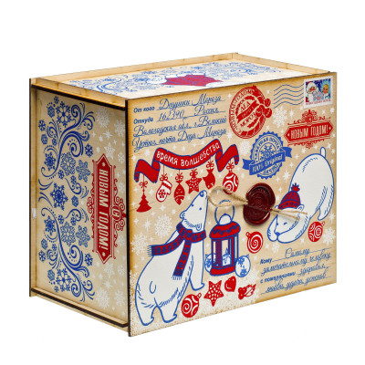 Посылка от Деда Мороза Северная сказка 1300 грамм премиум в Саратове