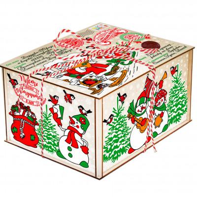Посылка от Деда Мороза Символ года 1700 грамм премиум в Саратове