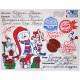 Посылка от Деда Мороза Снеговик 800 грамм элит