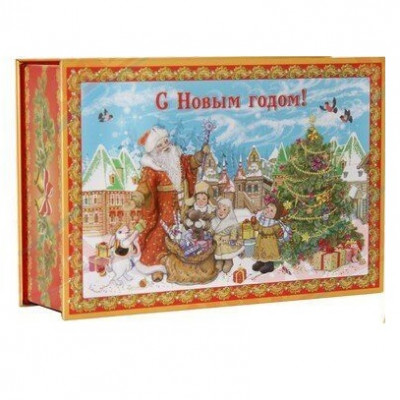 Дед Мороз и дети 800 грамм элит в Саратове