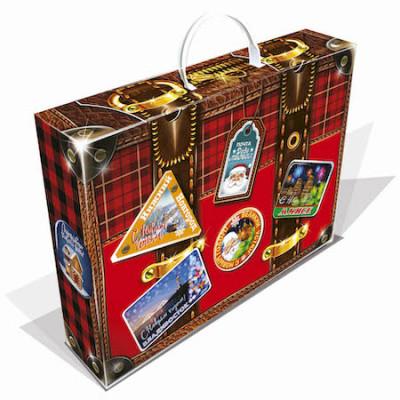 Новогодний багаж красный 1000 грамм элит в Саратове