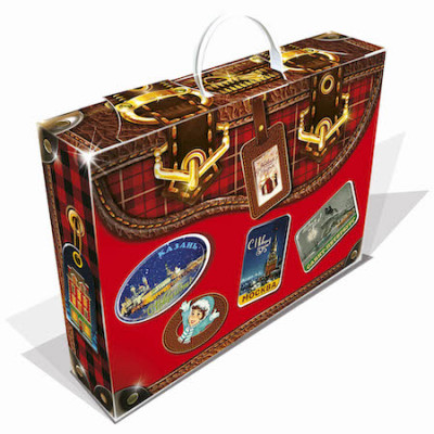 Новогодний багаж красный 1000 грамм премиум в Саратове
