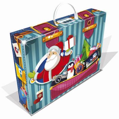 Новогодний багаж синий 1000 грамм премиум в Саратове