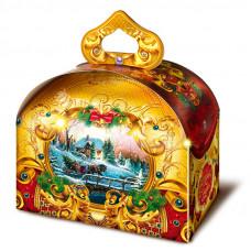 Детский новогодний подарок Зимний вечер 900 грамм в комплектации стандарт в Саратове