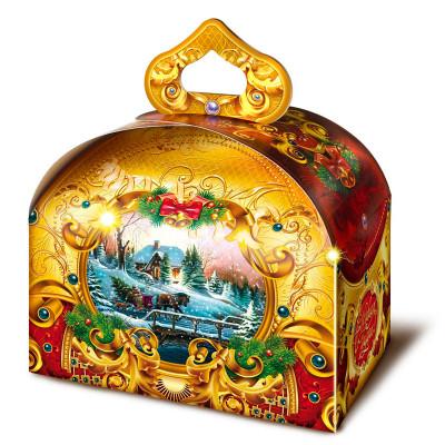 Детский новогодний подарок Зимний вечер 900 грамм в комплектации элит в Саратове