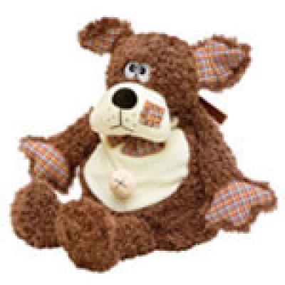 Детский новогодний подарок в мягкойупаковке-игрушке Портос 1100 грамм в стандартной комплектации в Саратове