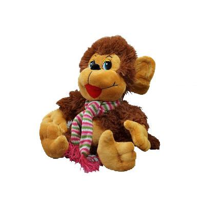 Игрушка-сувенир символ Нового года обезьяна пушистая в Саратове
