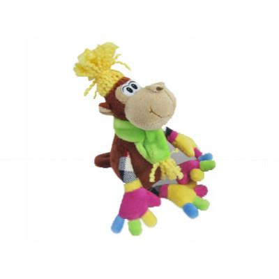 Игрушка-сувенир символ Нового года Обезьянка модница в Саратове