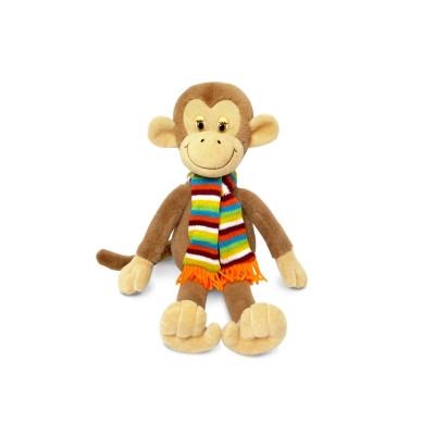 Игрушка-сувенир символ Нового года Обезьянка с шарфом музыкальная в Саратове