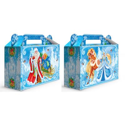 """Картонная упаковка для новогодних подарков """"Морозко"""" в Саратове"""