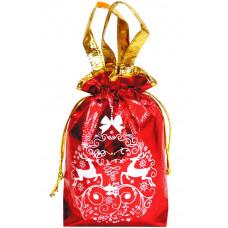 Новогодний подарочный мешок 3d красный в Саратове