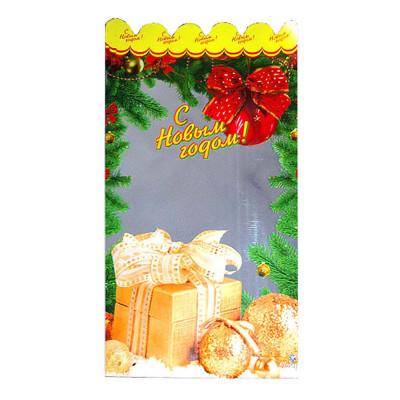 Детский новогодний подарок в пакете Подарочный набор С новым годом 500 грамм в стандартной комплектации в Саратове