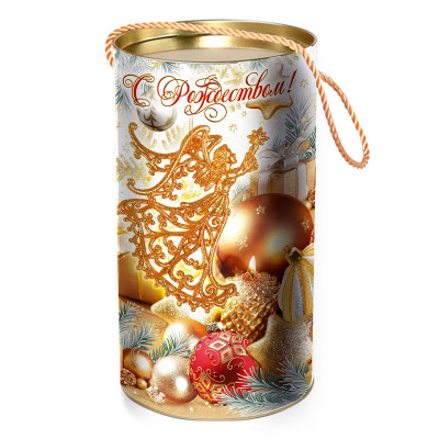 Детский новогодний подарок в тубе  Мечта 900 грамм стандарт в Саратове
