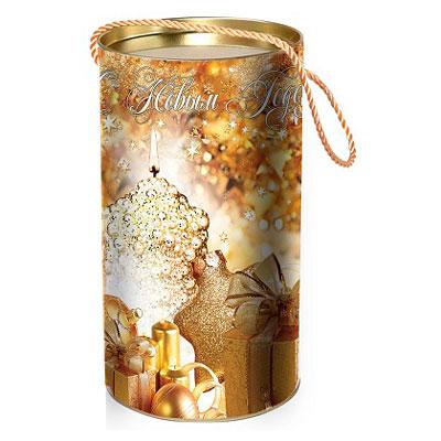 """Туба для Новогодних подарков """"Подарок"""" 1000 грамм в Саратове"""