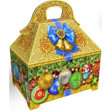 Картонная упаковка для Новогодних подарков Ларец подарочный в Саратове