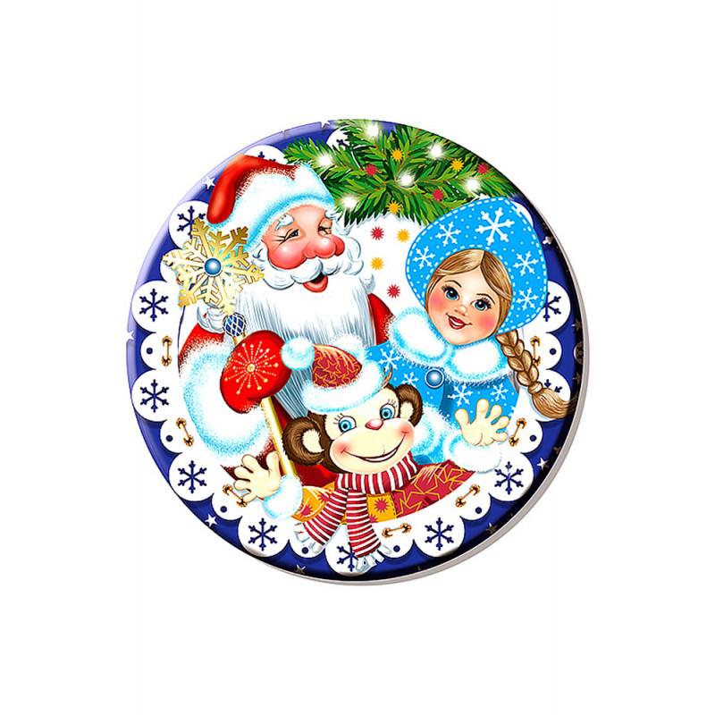 Картинки с дедом морозом круглые