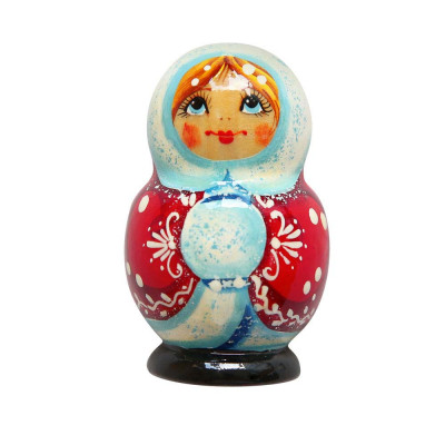 Новогодний магнит Снегурочка в Саратове