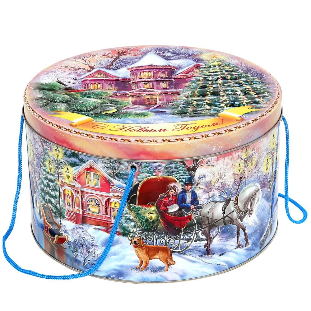 Подарки детям на новый год в шкатулке