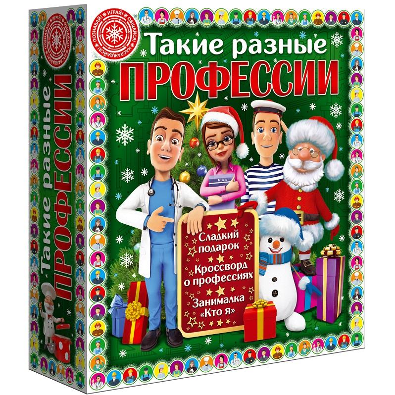 Сладкие новогодние подарки с развивающими играми