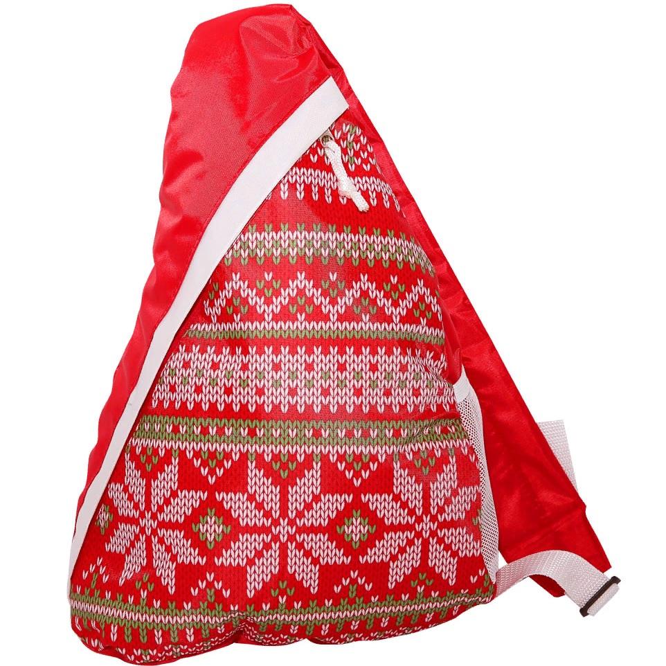 Сладкие новогодние подарки в рюкзачках, мешочках, сумках